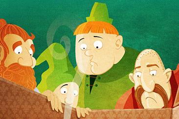 children book illustration thumb