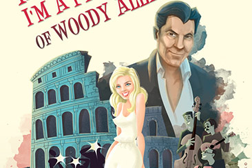 Retro italian movie poster illustration thumb